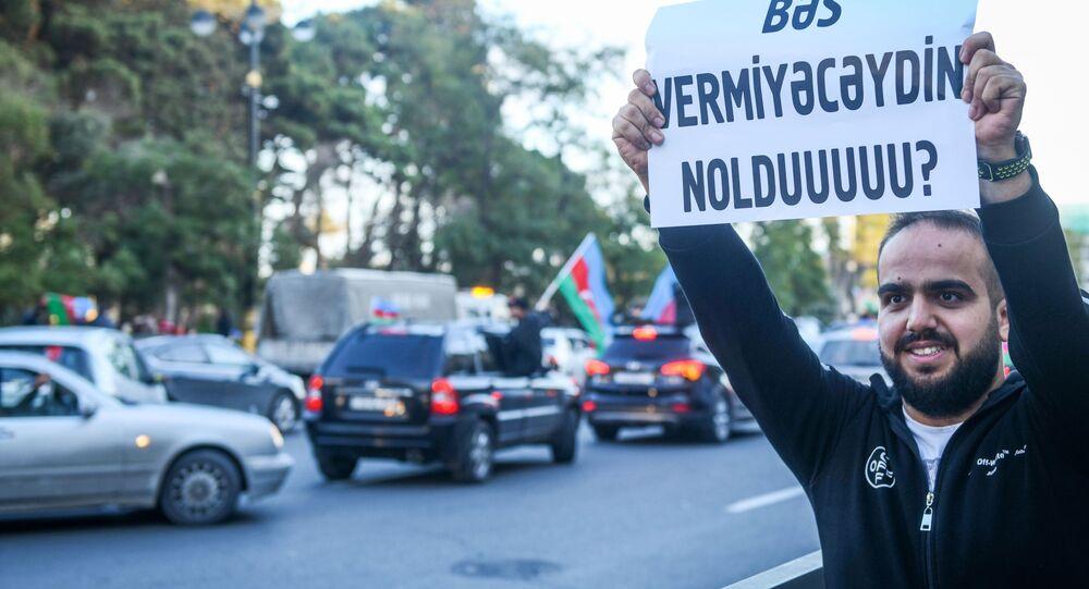 Prezydent Azerbejdżanu Ilham Alijew powiedział, że armia republiki przejęła kontrolę nad miastem Szusza w Karabachu.