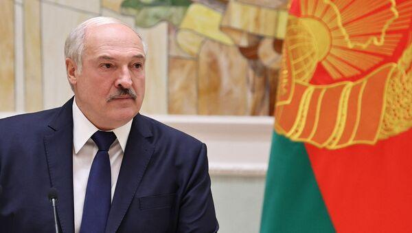 Prezydent Białorusi Alaksandr Łukaszenka - Sputnik Polska