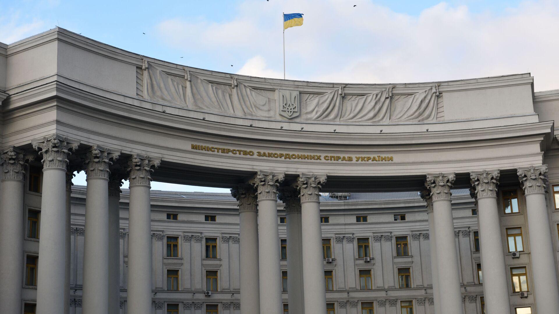 Budynek Ministerstwa Spraw Zagranicznych w Kijowie, Ukraina - Sputnik Polska, 1920, 06.07.2021