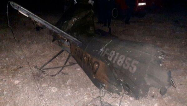 Rosyjski śmigłowiec Mi-24 rozbił się w Armenii - Sputnik Polska