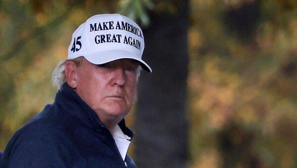 Prezydent USA Donald Trump. - Sputnik Polska