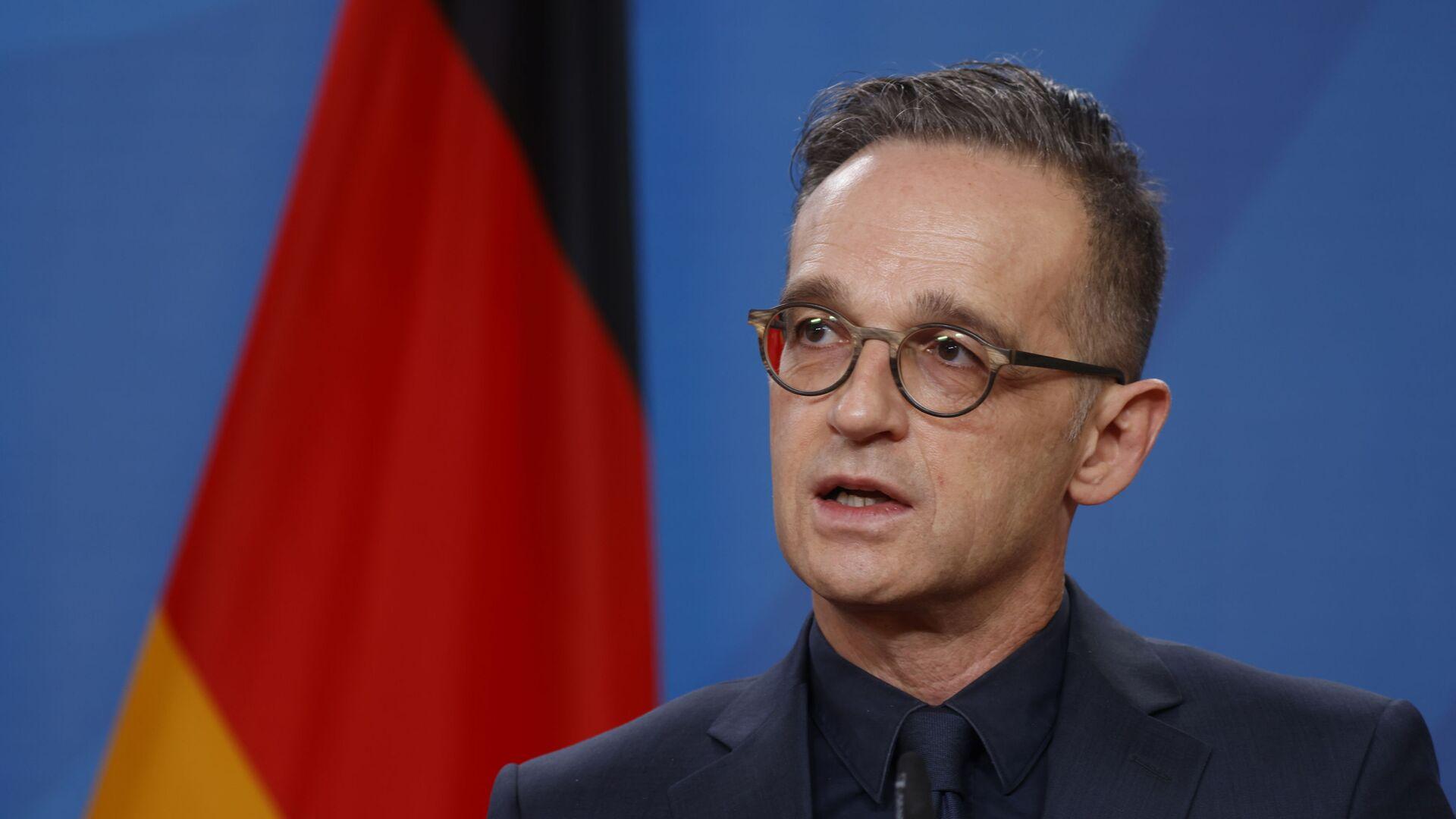 Minister spraw zagranicznych Niemiec Heiko Maas. - Sputnik Polska, 1920, 23.06.2021
