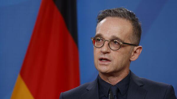 Minister spraw zagranicznych Niemiec Heiko Maas. - Sputnik Polska