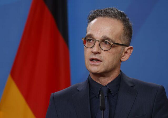 Minister spraw zagranicznych Niemiec Heiko Maas.