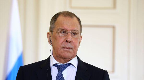 Rosyjski minister spraw zagranicznych Siergiej Ławrow. - Sputnik Polska