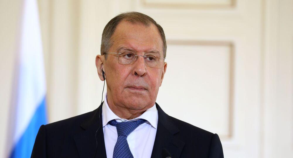 Rosyjski minister spraw zagranicznych Siergiej Ławrow.