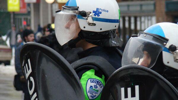 Policja w Montrealu - Sputnik Polska