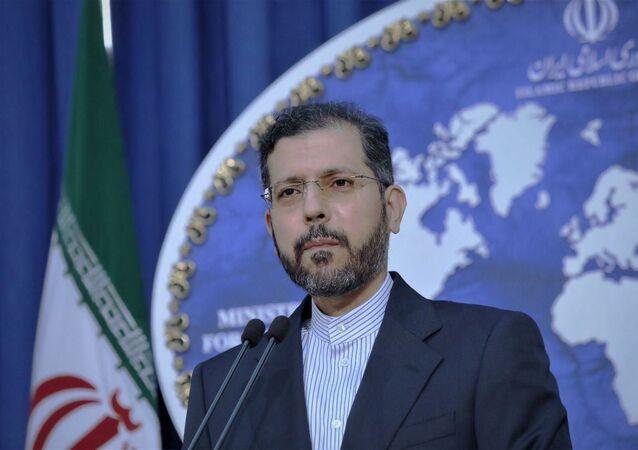 Rzecznik irańskiego MSZ Said Chatibzade.