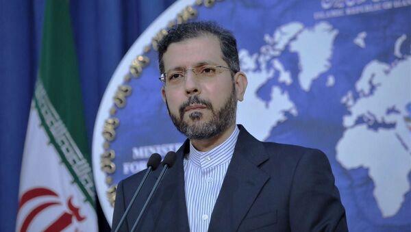 Rzecznik irańskiego MSZ Said Chatibzade. - Sputnik Polska