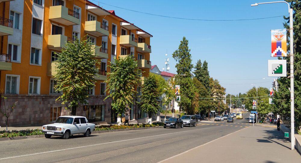 Stepanakert, Górski Karabach.