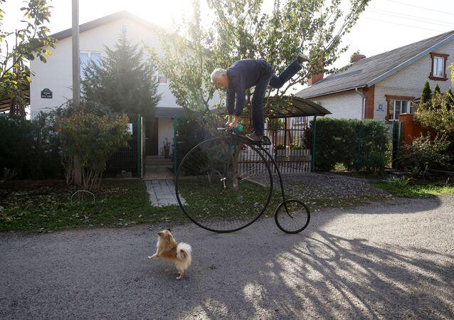 Wynalazca Siergiej Daszewskij i jego niezwykły rower