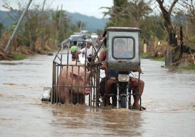Rośnie liczba ofiar tajfunu na Filipinach
