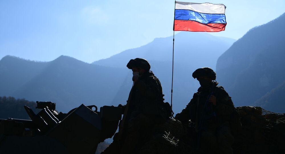Rosyjskie siły pokojowe w Górskim Karabachu