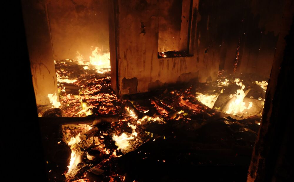 Pożary w Górskim Karabachu