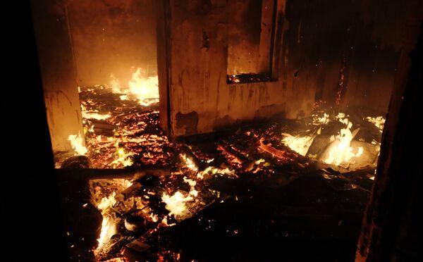 Pożary w Górskim Karabachu - Sputnik Polska