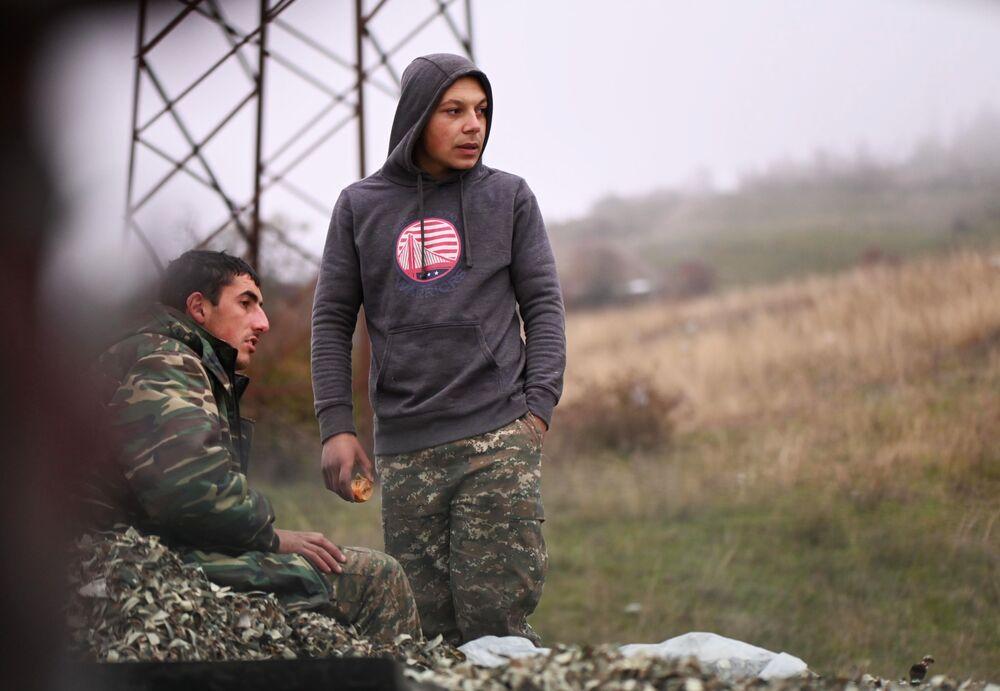 Mieszkańcy Górskiego Karabachu