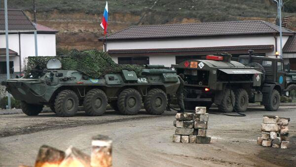 Rosyjskie siły pokojowe w Górskim Karabachu - Sputnik Polska