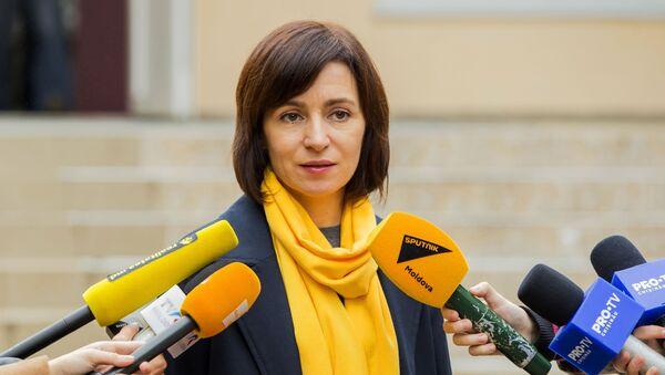 Maia Sandu - Sputnik Polska