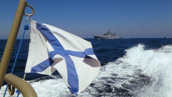 Fregata FR Admirał Makarow  - Sputnik Polska