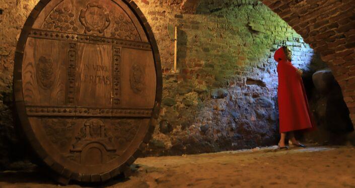 Wnętrze zamku Waldau