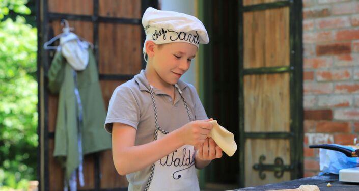 Najmłodszy syn Sorokinów Paweł odnosi sukcesy w gotowaniu