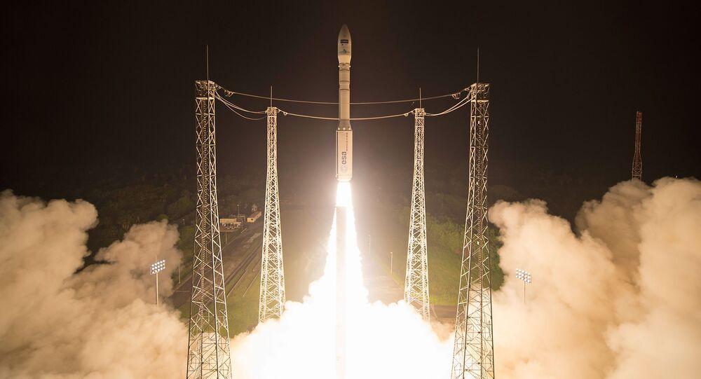 Start rakiety nośnej Vega
