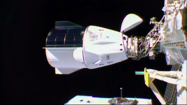Statek Crew Dragon firmy SpaceX zadokował do MSK - Sputnik Polska