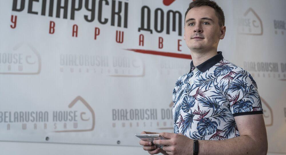 Autor i twórca kanału NEXTA w Telegramie Stepan Putilo