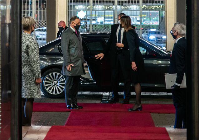 Prezydent Andrzej Duda w Wilnie