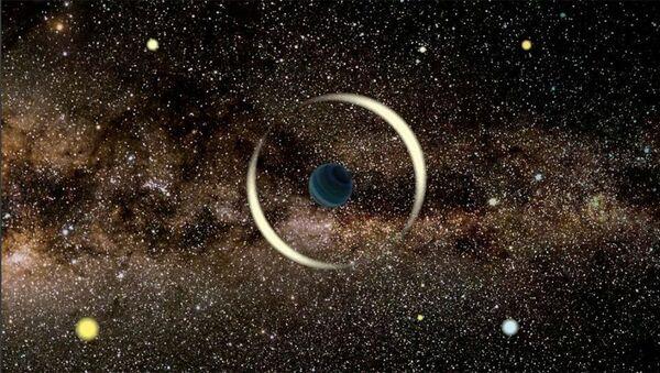 Artystyczna wizja samotnej planety - Sputnik Polska