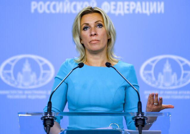 Rzeczniczka rosyjskiego MSZ Maria Zacharowa.