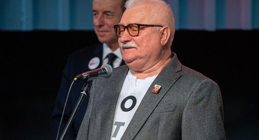 Lech Wałęsa.
