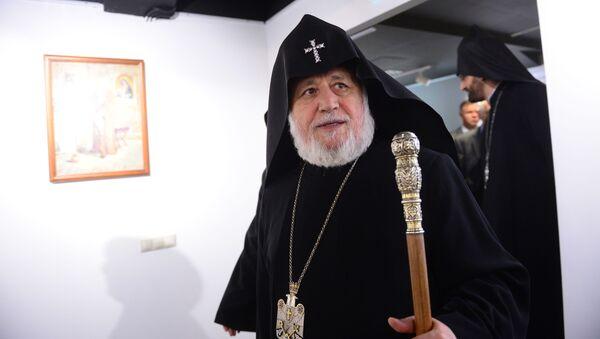 Katolikos wszystkich Ormian Karekin II - Sputnik Polska
