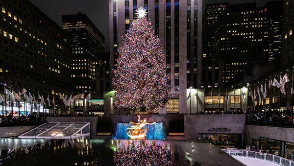 Rockefeller Center w Nowym Jorku - Sputnik Polska