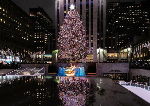 Rockefeller Center w Nowym Jorku