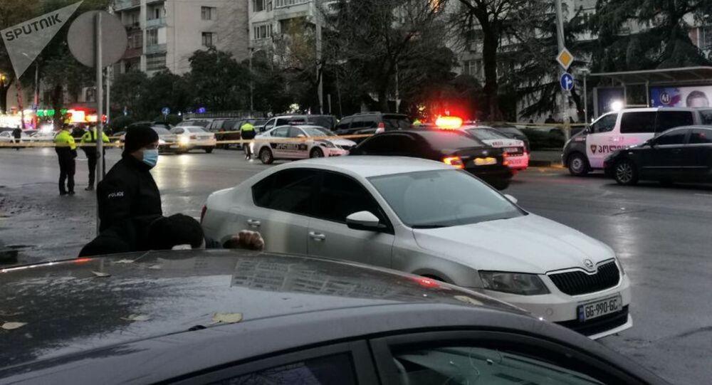 Specjalna operacja uwolnienia zakładników w Tbilisi.