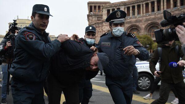 Protesty w Armenii - Sputnik Polska