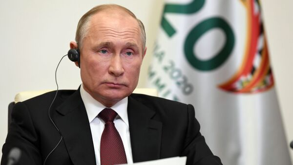 Władimir Putin podczas G20 - Sputnik Polska