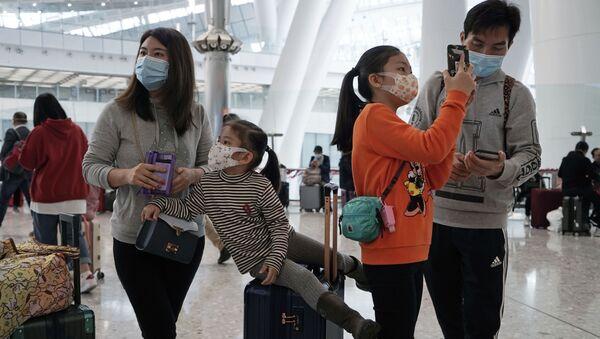 Lotnisko w Hongkongu - Sputnik Polska
