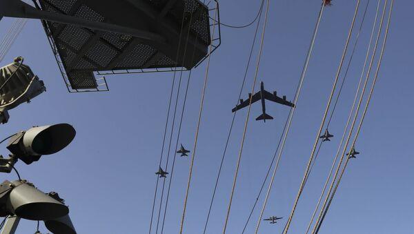 Amerykański bombowiec strategiczny B-52H Stratofortress - Sputnik Polska
