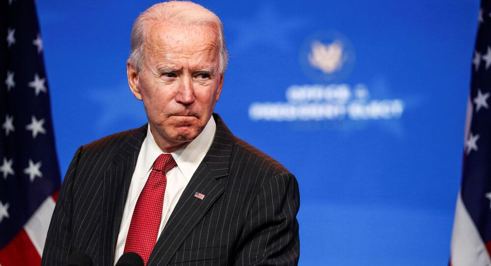 Kandydat na prezydenta USA Joe Biden w Wilmington
