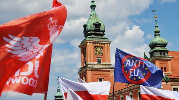 Sprzeciw wobec członkostwa Polski w UE - Sputnik Polska