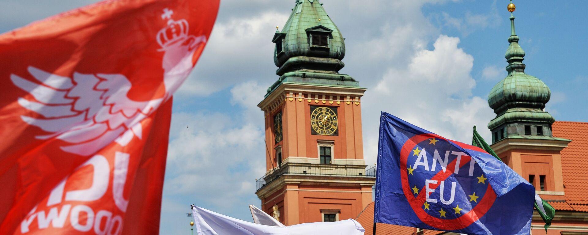 Sprzeciw wobec członkostwa Polski w UE - Sputnik Polska, 1920, 15.09.2021