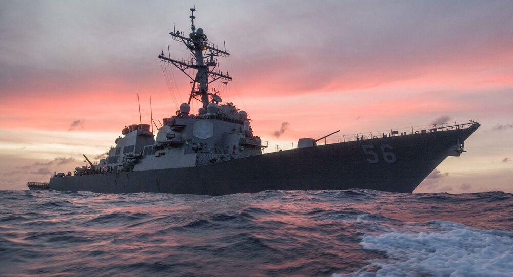 Niszczyciel Marynarki Wojennej USA USS John S. McCain