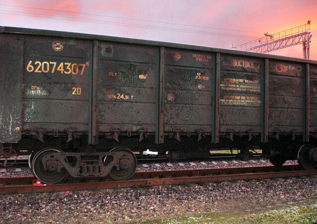 Kolejowy przemyt papierosów w wagonach na granicy polsko-rosyjskiej