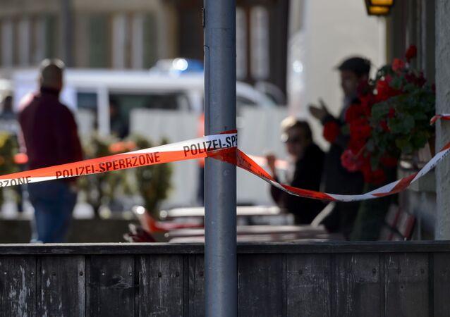 Szwajcaria. Atak nożowniczki w Lugano.
