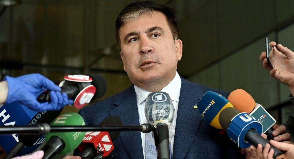 Michaił Saakaszwili.