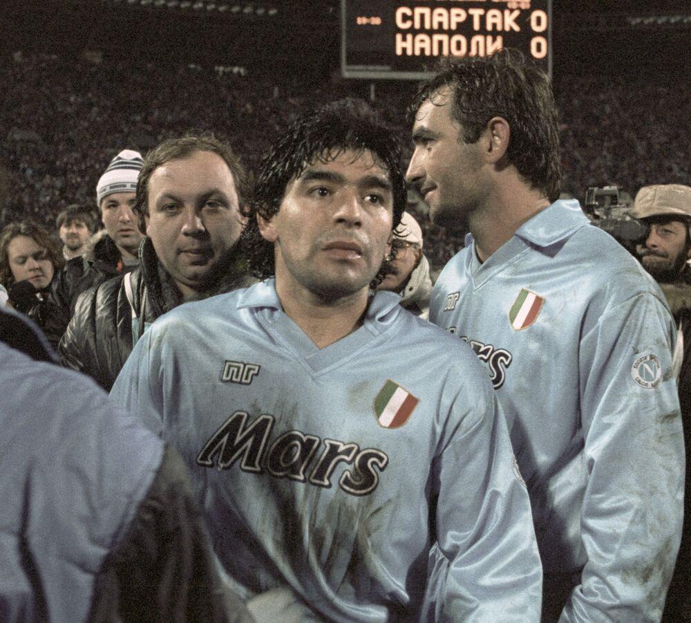 Mecz Napoli – Spartak, 1990 rok