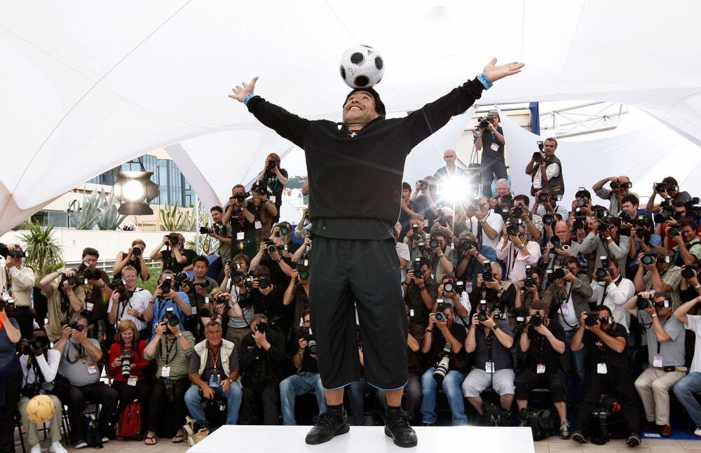 Premiera filmu o Diego Maradonie w Cannes, 2008 rok