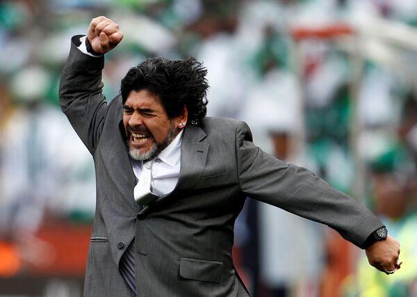 Diego Maradona - Sputnik Polska